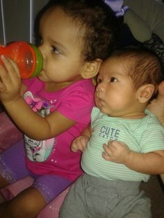 Nylah Rae and Izyk Jai.
