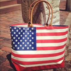 Murray's Toggery Shop — YRI American Flag Tote