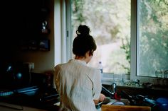 Morag Cooking  by Or Hiltch on Flickr.