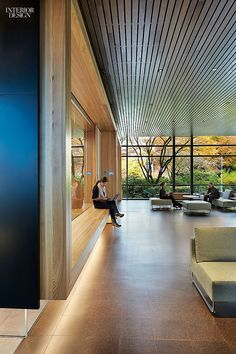 Olson Kundig Architects. Project: Microsoft. Redmond, Washington. Photography by Benjamin Benschneider/Otto.