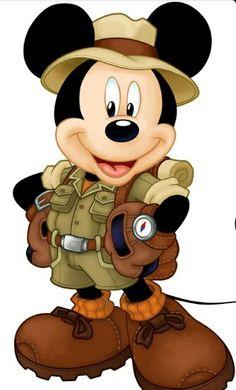 Explorer Mickey