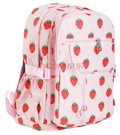 Strawberry pink backpack!