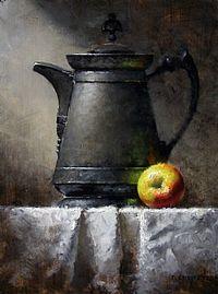 Manzana y jarrita