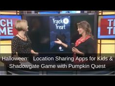 Free Apps for tracking your Kids and Keeping them Safe this Halloween: Share Location, Track and Treat - iPadWisdom.com | iPadWisdom.com