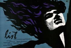 List (Vatroslav Mimica, Polish design by Roman Cieslewicz Polish Posters, Film Posters, Polish Films, Roman, Cinema Film, Graphic Design Posters, List, Gallery, Movies