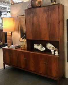 "TEEGEEBEE midcentury's Instagram post: ""💥💥💥 SOLD 💥💥💥 💵✂️💵✂️ PRICE CUT! ✂️💵✂️ $300 drop on the credenza with floating hutch top...now $1150 takes it home. BUT WAIT! FB and IG…"" Storage, Home, Danish Modern, Floating, Teak, Cabinet, Furniture, Credenza, Mid Century"