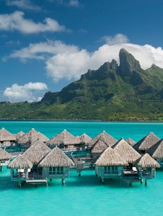 St Regis Bora Bora Hotels: The St. Regis Bora Bora Resort - Hotel Rooms at stregis Honeymoon Spots, Honeymoon Destinations, Vacation Spots, Vacation Resorts, Honeymoon Registry, Romantic Destinations, Bora Bora Resorts, Oh The Places You'll Go, Beach Resorts