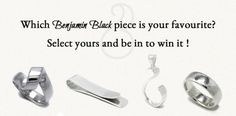 Win hand crafted jewellery – by Benjamin Black Goldsmiths! The Loyal, Handcrafted Jewelry, Jewelry Crafts, Announcement, The Selection, Followers, Competition, Fans, Draw