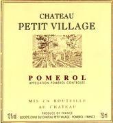 Chateau Petit Village Pomerol