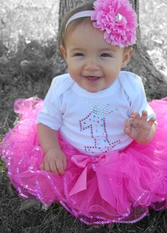 Birthday Girl outfit 3 piece set by babybubby on Etsy, $38.00