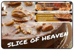 Pink Zebra Recipe: Slice of Heaven.  featuring Ooey Gooey Caramel and Southern Pecan Pie.