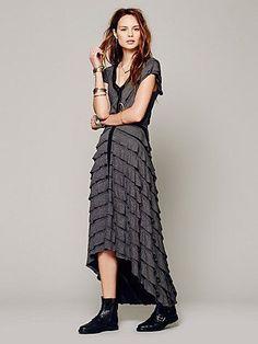 Free People FP X Mia Ruffle Dress
