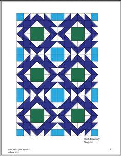 The Southwest Quilt Patterns is a Modern PDF Design.