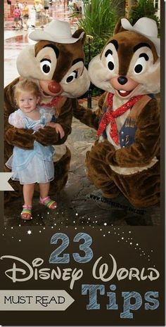 23 Disney World Tips - LOTS of great tips for Disney World Planning for families.  Must read this before a disney vacation.