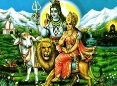 The love story of Shiva and Parvati