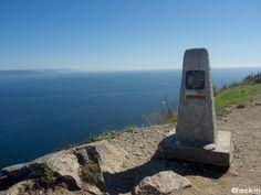 """Il """"Km 0"""", la fine del Cammino di Santiago a Capo Finisterre, Galizia"""