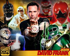 *PIN to WIN* Meet Jason David Frank at #SLCC16! Green Ranger in Mighty Morphin Power Rangers & more! #utah
