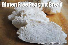 Gluten Free Peasant Bread Recipe