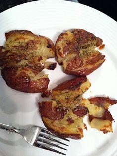 Smashed, Roasted Potatoes (a.k.a. Potato Cookies)