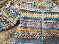 Ravelry: donna-sue's meadow in spring Rowan Knitting, Fair Isle Knitting, Knitting Magazine, Crochet Magazine, Crochet Cardigan, Knit Crochet, Knitting Projects, Knitting Patterns, Wooly Jumper
