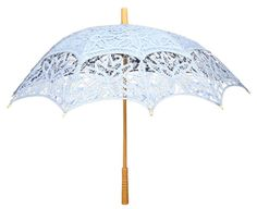 I want this! Blue parasol from the Ladies Emproum