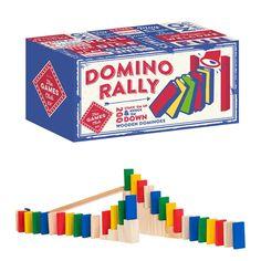 Δημιουργήστε εκπληκτικές πίστες ράλι ντόμινο.  Διασκεδαστικό χόμπι ξεκινήστε αλυσιδωτή αντίδραση, χτίστε και χτυπήστε το καμπανάκι. 200 ξύλινα ντόμινο για δημιουργικό χρόνο και διασκέδαση για όλες τις ώρες. Stack Game, Rally Games, Lessons For Kids, Knock Knock, Cool Gifts, Symbols, Letters, Logos, Gift Ideas