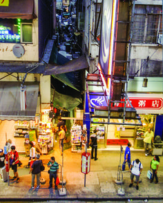 """These so-called """"in-between"""" spaces often hold decades-old shops that have borne witness to the city's urbanization."""