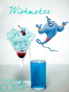 Wishmaker (Cocktails by Codys.Cocktails - (Mostly) Nerdy drinks - Disney Cocktails, Cocktail Disney, Disney Alcoholic Drinks, Cocktail Shots, Disney Themed Drinks, Disney Inspired Food, Disney Food, Alcholic Drinks, Alcohol Drink Recipes