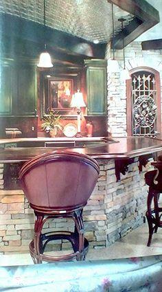 American Dream Homes Magazine Medieval Wine Cellar Door