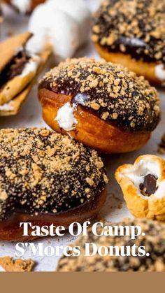 Gourmet Donut Recipe, Baked Donut Recipes, Baked Donuts, Baby Food Recipes, Sweet Recipes, Baking Recipes, Dessert Recipes, Food Baby, Doughnuts