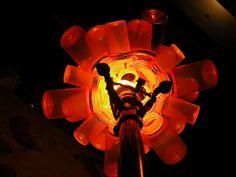 Pill Bottle Explosion Lamp