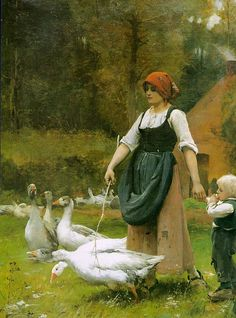 In the MeadowDupré, Julien (French, 1851-1910)