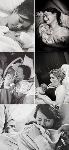 First Smile - Baby Journal App — Moment Before Labor Credits (from the top , left...
