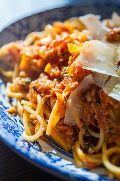 Crab Pasta Recipe with Tomato Sauce