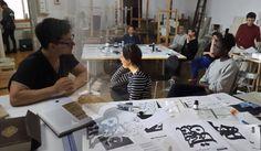Global Calligraphy Vienna Workshop in the Academy of Fine Arts Vienna Vienna Austria, Workshop, Fine Art, Teaching, Penmanship, Atelier, Work Shop Garage, Education, Visual Arts