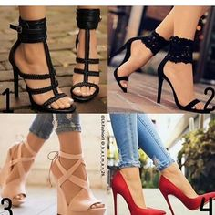 Hoy hablamos de zapatos he puesto estos que me parecen bonitos del instagram @girlyfashionsworld que opinais si ponemos varios post de tipos de calzados hoy si os gusta ya sabeis dadle like and follow friends #friday #calzado #tacones #varios #fashionlover #blogger #your #favorite  #follow #likelike #si #os #gusta #