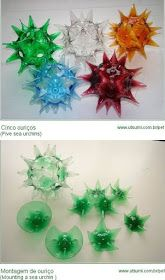38 Ideias de Artesanato Com Garrafa PET (Inéditas! Water Bottle Crafts, Reuse Plastic Bottles, Plastic Bottle Flowers, Plastic Bottle Crafts, Recycled Bottles, Plastic Craft, Upcycled Crafts, Recycled Art, Kids Crafts