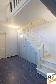 Landelijke houten trap  Trappen Teck Puurs