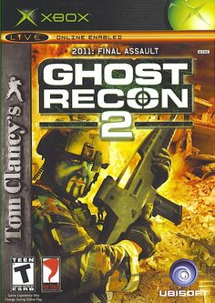 Now available in our store Ghost Recon 2 201.... Check it out http://the-gamers-edge-inc.myshopify.com/products/ghost-recon-2-2011-final-assault-microsoft-original-xbox-video-game?utm_campaign=social_autopilot&utm_source=pin&utm_medium=pin now!