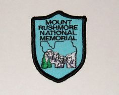 MT. RUSHMORE  NATIONAL PARK EMBROIDERED SHIELD PATCH National Park Patches, National Parks Usa, The Conjuring, Roads, America, Adventure, Ebay, Road Routes, Street