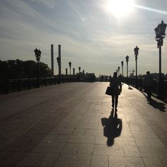 Москва. Пешеходный мост