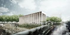 Studio MADe Wins Competition for Arts Center in South Korea,Courtesy of Studio…