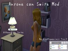 ModTheSims - Anyone can Swipe Mod