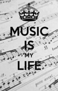 La verdad es que si está linda la imagen por que a l@s adolescentes nos gusta la música