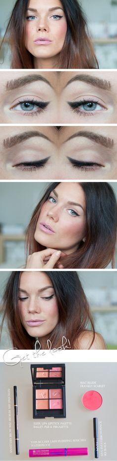 Maquiagem básica pro dia a dia por Linda Hallberg