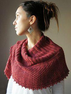 Joji Autumn Blush Scarf Pattern at Dream Weaver Yarns LLC