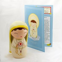 Our Lady of Fatima Collectible Vinyl Figure by Shining Light Dolls available now! http://www.amazon.com/dp/B00OBTP1R8/ref=cm_sw_r_pi_dp_-gLrub0WFRA1A