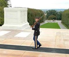 Arlington National Cemetery - Tomb of the Unknown Soldier. The most respectful thing I've ever seen! It's truly beautiful!