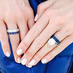Love love love the stacking rings.
