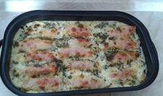 Sonkás sajtos csibemell - www.kiskegyed.hu